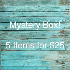 Mystery Box Sale! 5 for $25!